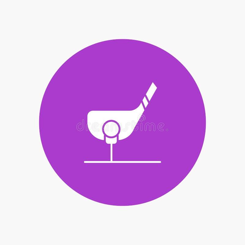 Ziel, Ball, Club, Golf, Schuss vektor abbildung