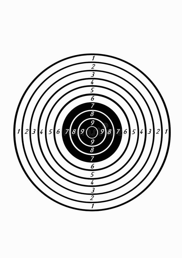 Ziel für Zündung vektor abbildung