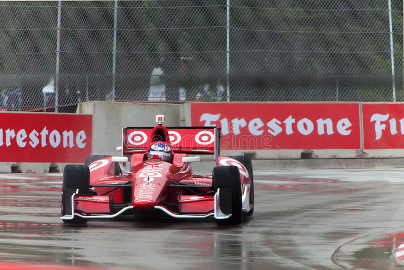 Ziel Indycar Detoit 2013 Grandprix stockfotos