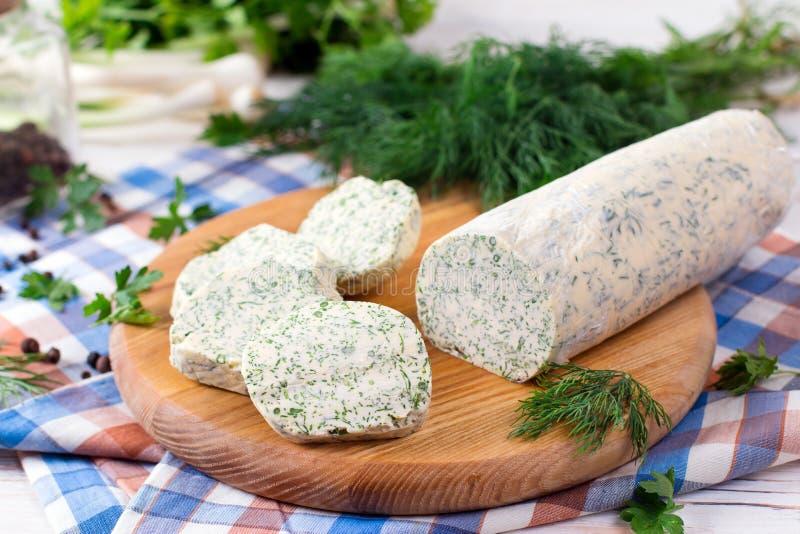 Zielarski masło, masło doprawiający z ziele obrazy royalty free