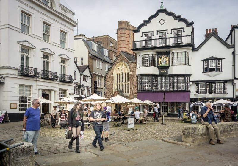 Zieleń, Exeter obraz stock