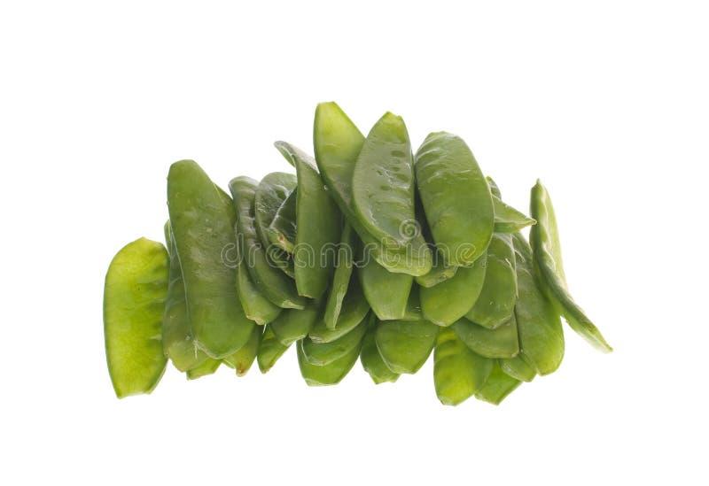 Download Zieleń Odizolowywająca Grochowa Strąków Sterta Zdjęcie Stock - Obraz złożonej z warzywo, roślina: 13330258