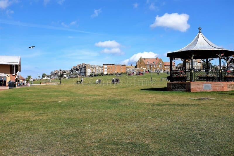 Zieleń przy Hunstanton w Norfolk, UK obraz royalty free