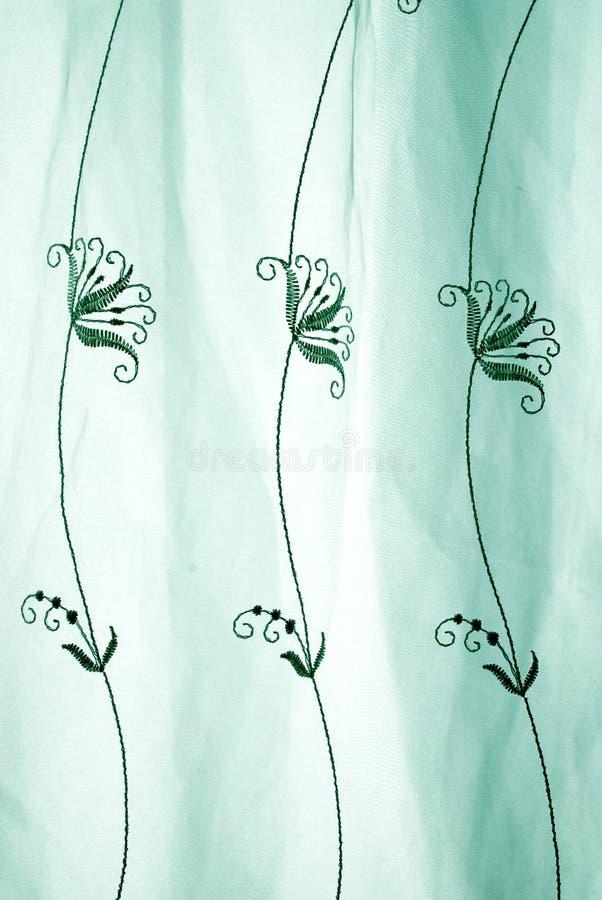 zieleni abstrakcjonistyczna koronka obrazy stock