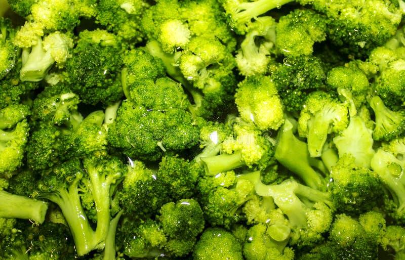 Zieleni brokuły obraz stock