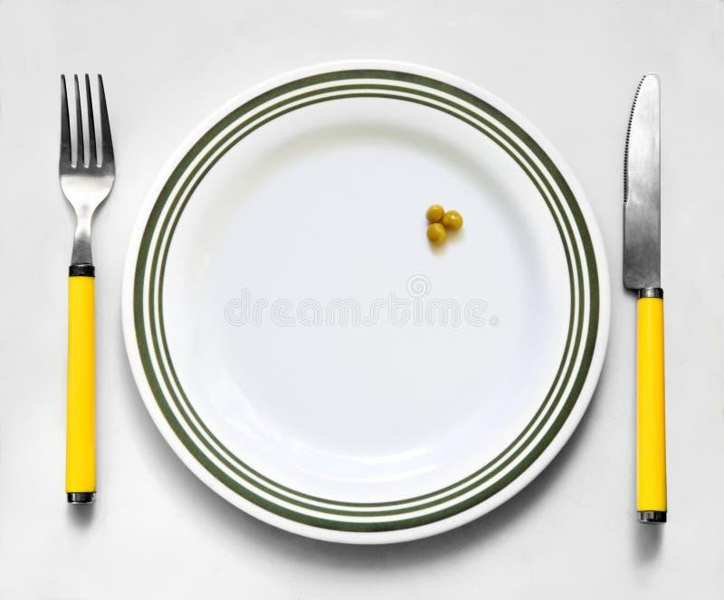 Download Zieleni grochy obraz stock. Obraz złożonej z posiłek - 13329981