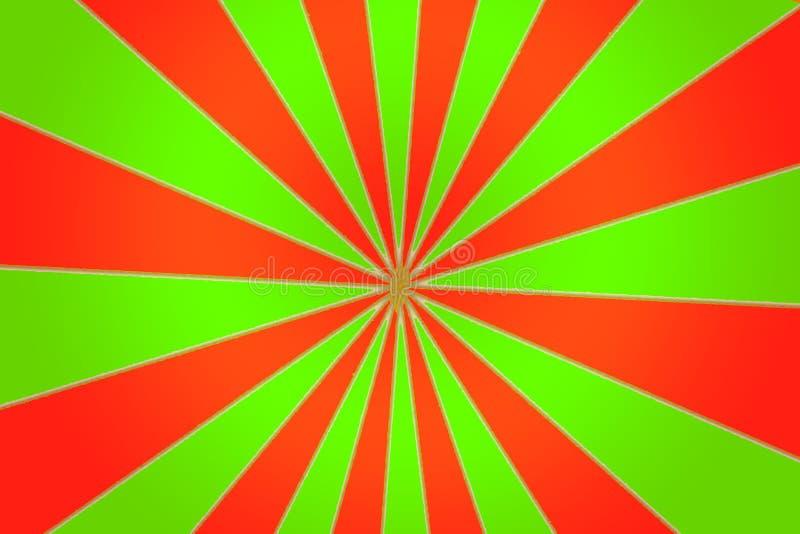 Zieleni I rewolucjonistki szpilki koło ilustracji