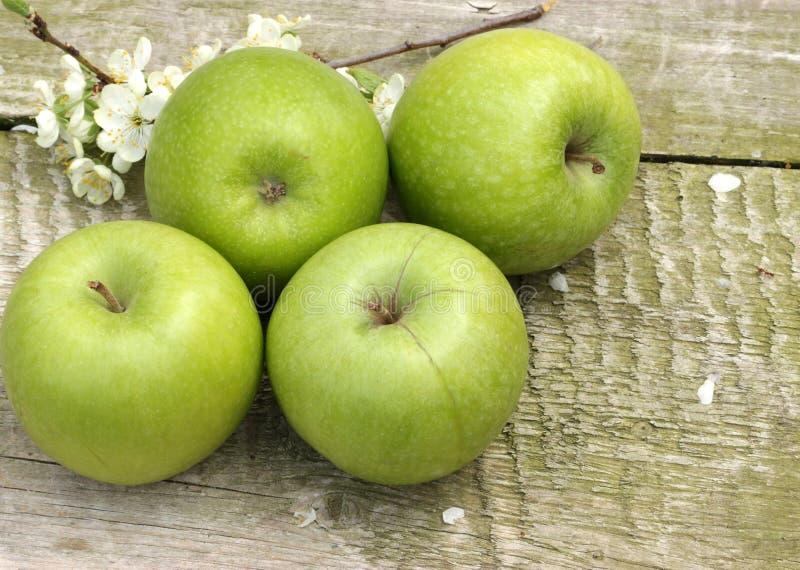 Download Zieleni jabłka zdjęcie stock. Obraz złożonej z żywienioniowy - 53785084