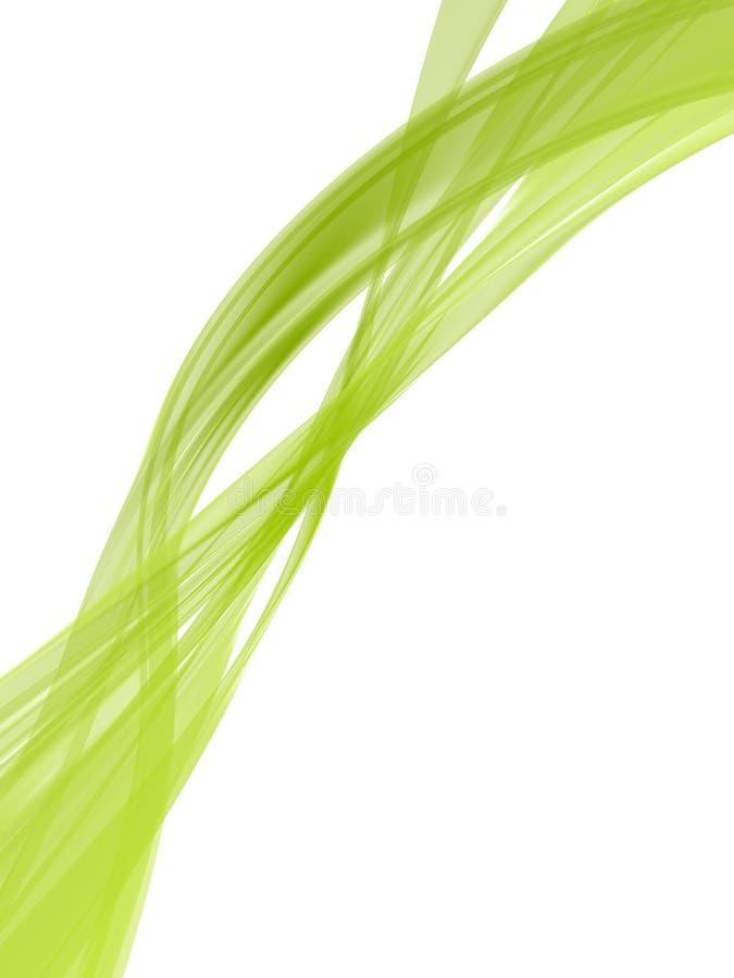 zieleni kształty ilustracja wektor