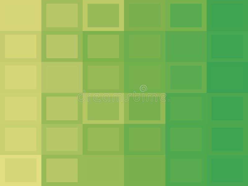 Zieleni kwadratowi tła zdjęcie stock
