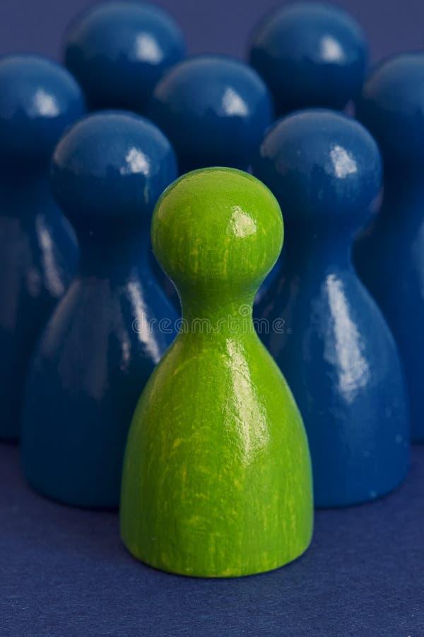 zieleni przywódctwo iii zdjęcie royalty free