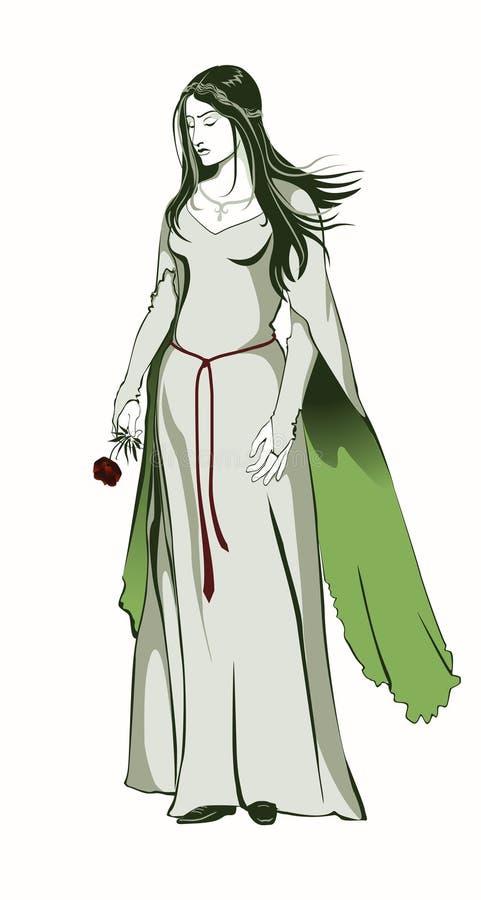 zieleni rękawy ilustracji