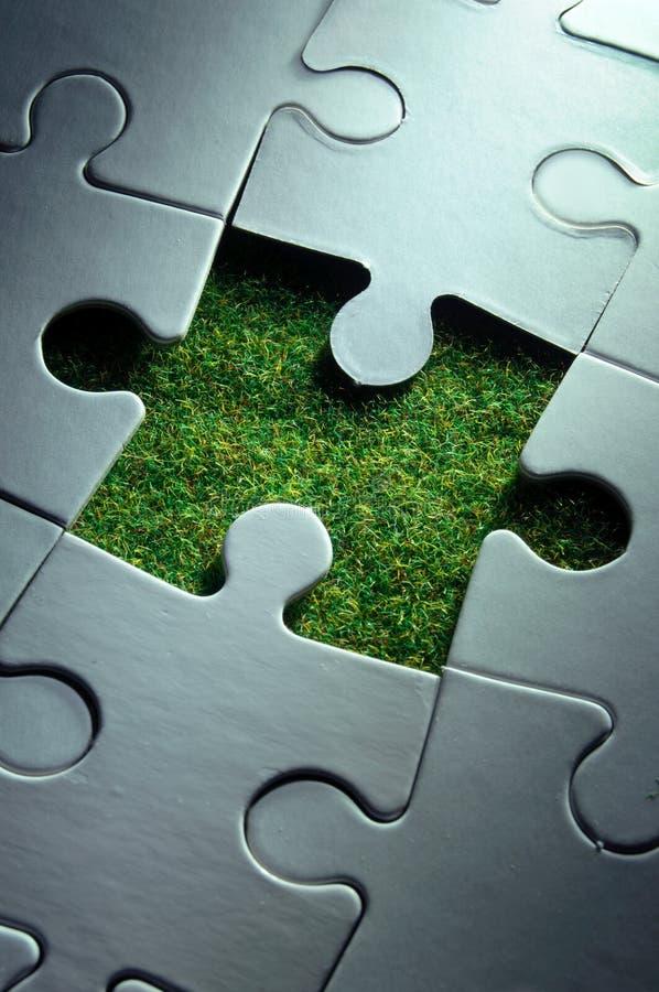 zieleni rozwiązania obraz stock