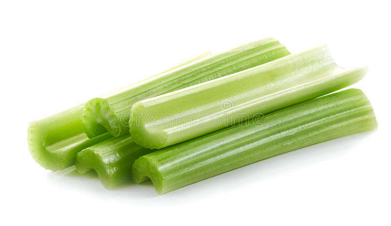 zieleni selerów kije fotografia stock