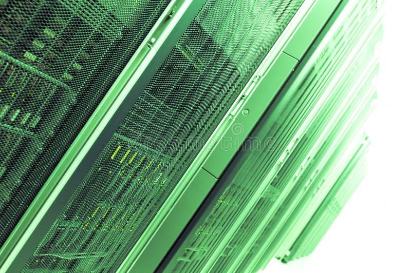 zieleni serwery obrazy royalty free