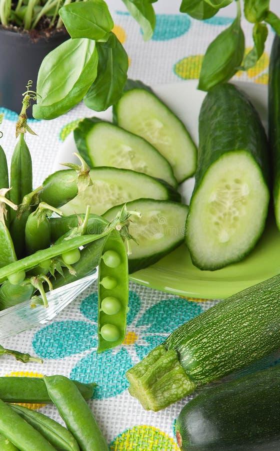 zieleni warzywa obrazy stock