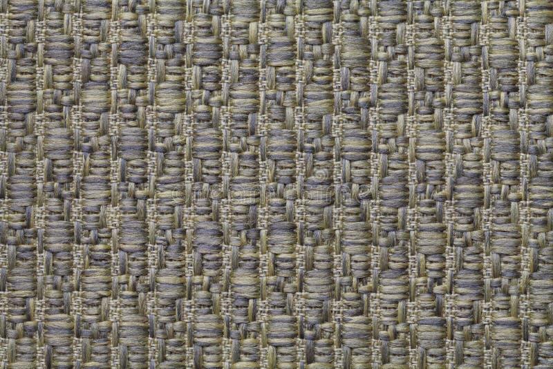 Zielenieje trykotowego woolen tło z wzorem miękka część, wełnisty płótno Tekstura tekstylny zbliżenie obraz stock
