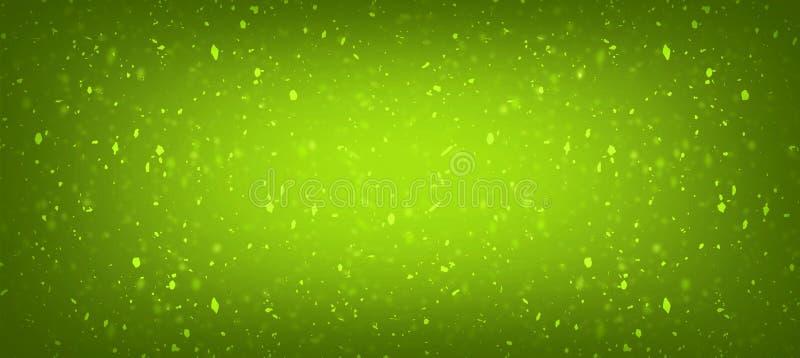 Zielenieje z złocistej świeżej colour tekstury gradientowym tłem dla ilustracji