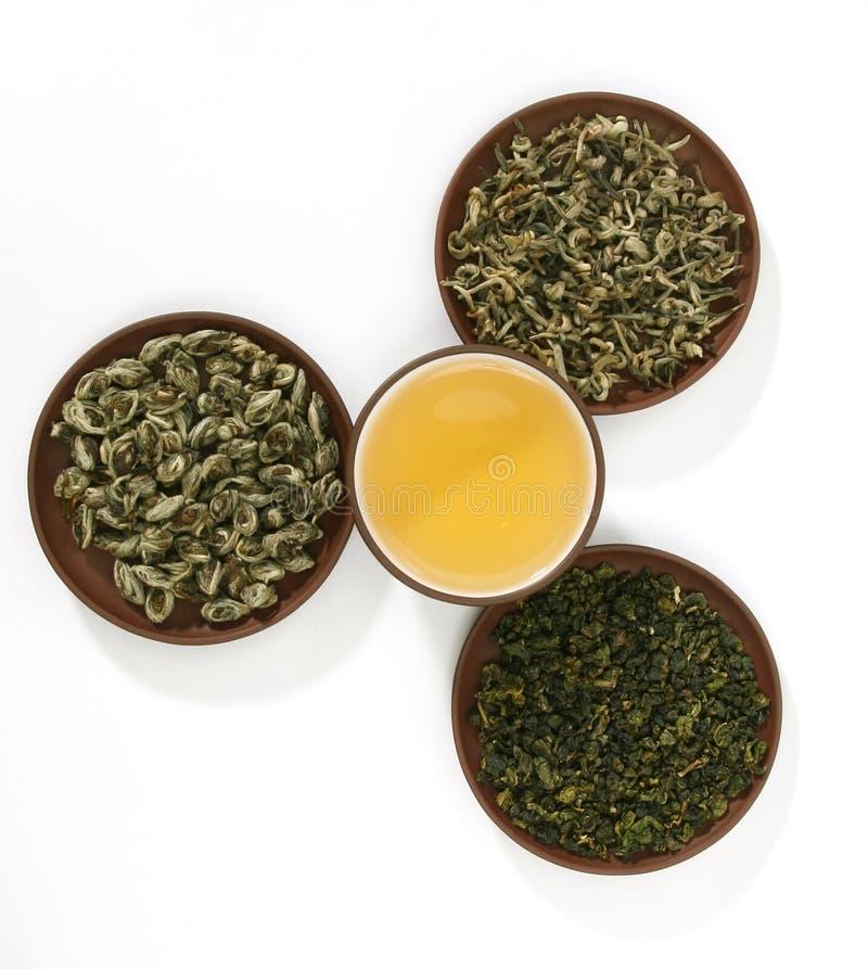 zieloną herbatę. obraz stock