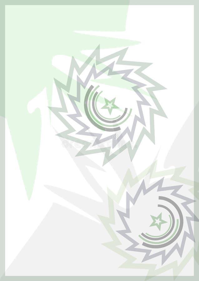 zielona żyletka obraz stock