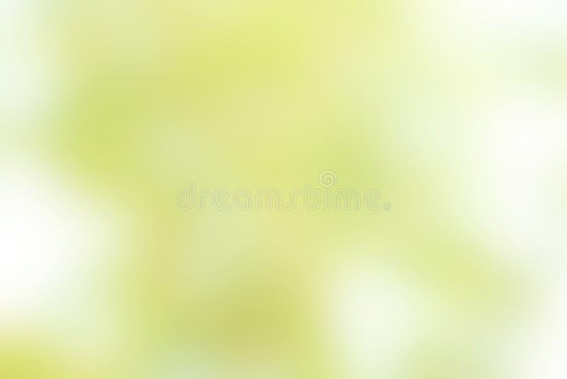 Zielona Bokeh plama obraz royalty free