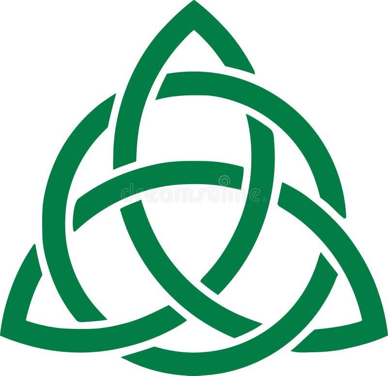 Zielona celt kępka royalty ilustracja