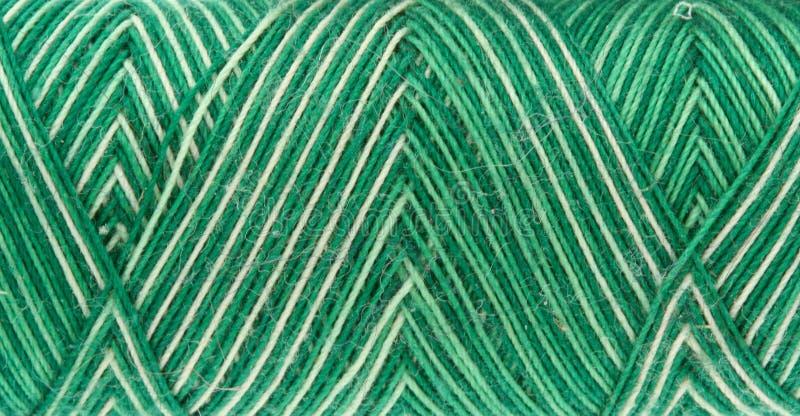 zielona cewy nić obrazy stock