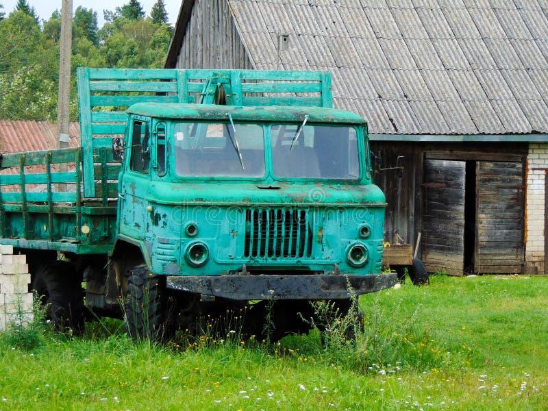 zielona ciężarówka zdjęcie stock