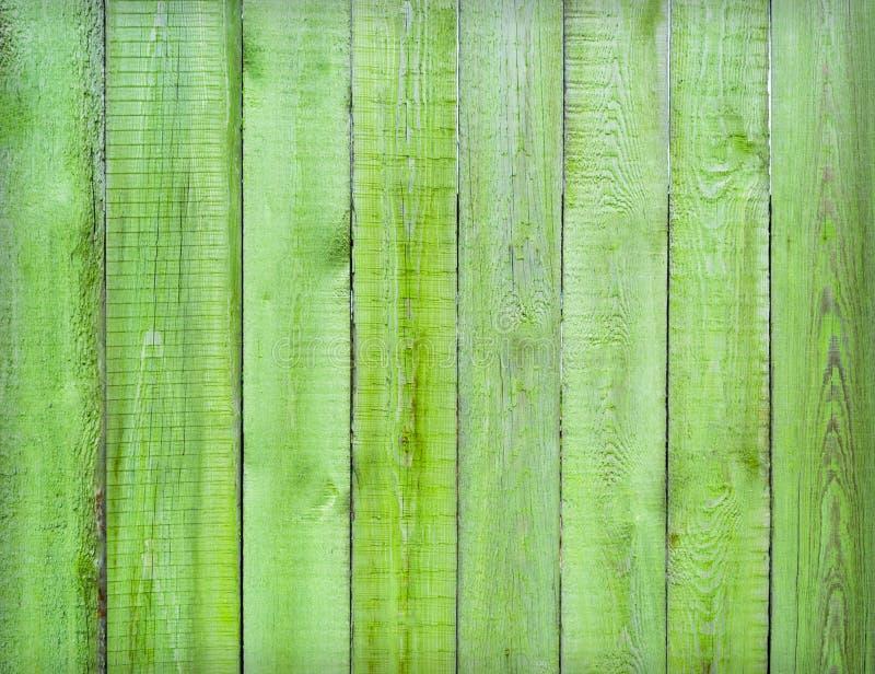 Zielona drewniana tekstura jako tło obrazy royalty free
