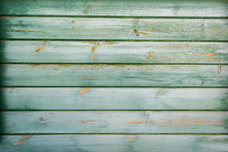 Zielona drewniana tekstura jako tło fotografia stock