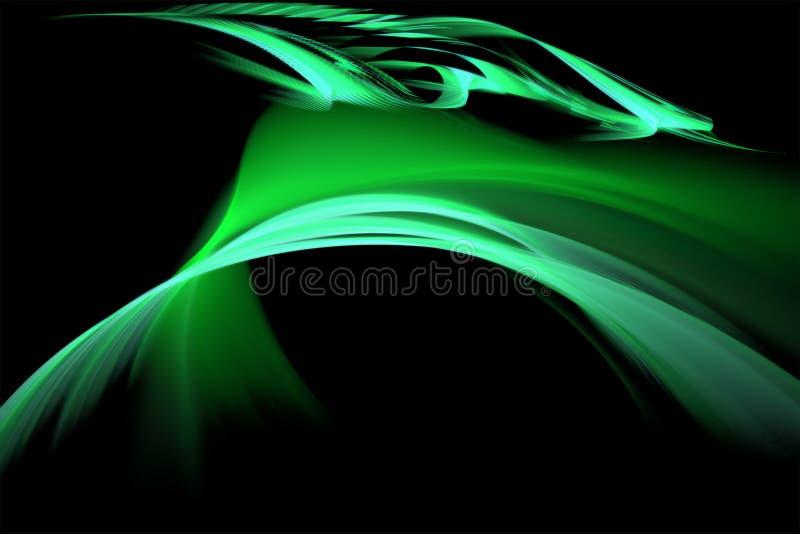 zielona dziura royalty ilustracja
