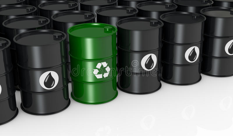 Zielona energia ilustracji