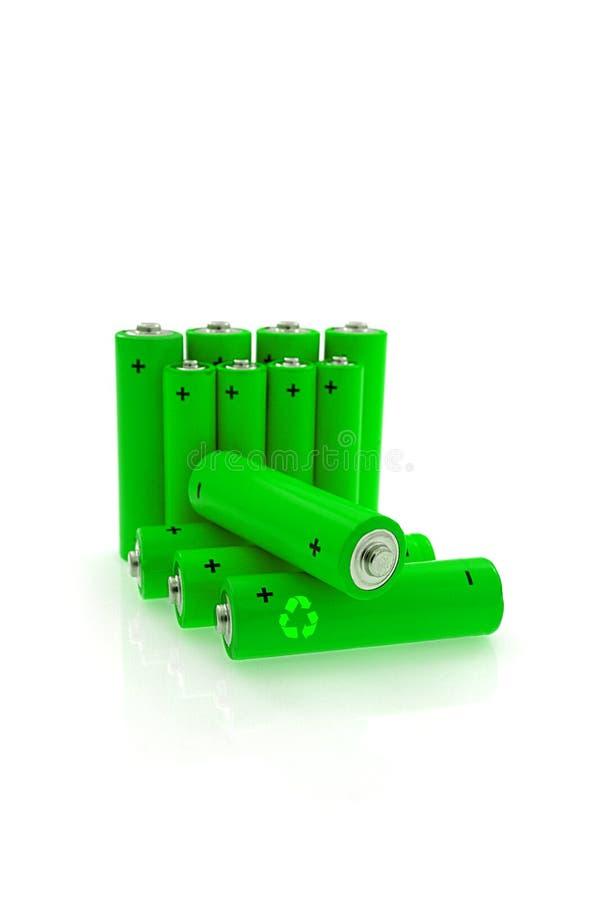 Zielona energia zdjęcia stock