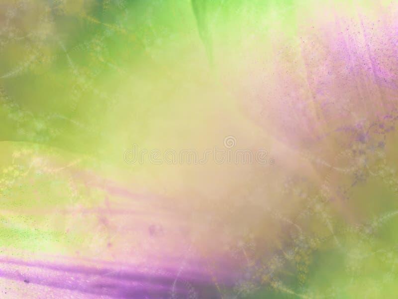 zielona fioletowa miękka konsystencja royalty ilustracja