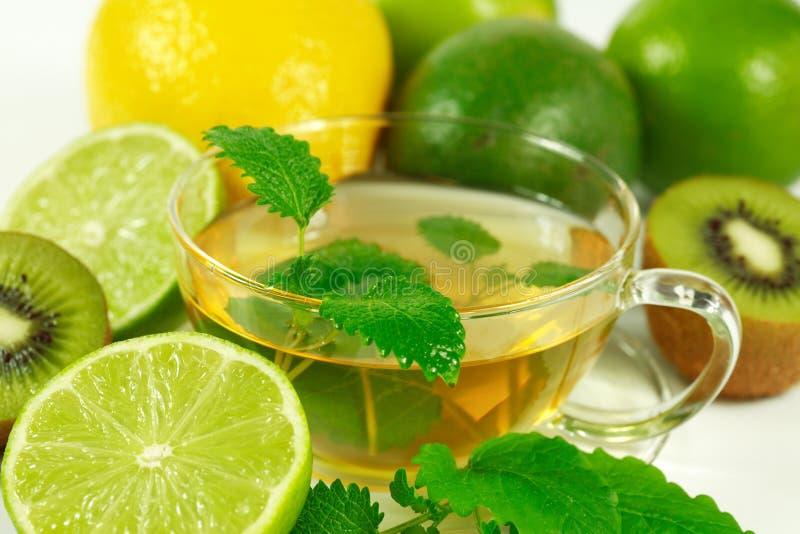 zielona herbata obraz stock