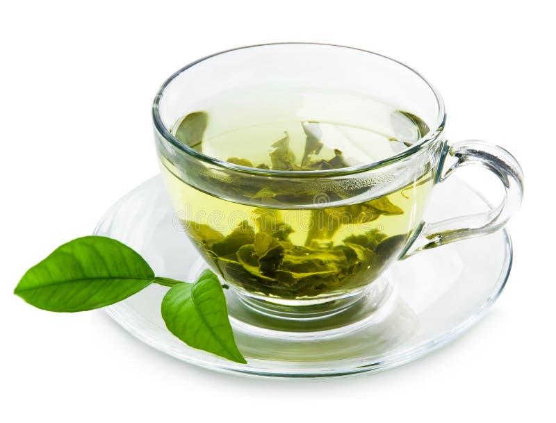 Zielona herbata. zdjęcia stock