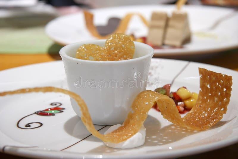 zielona herbata parfait zdjęcia royalty free
