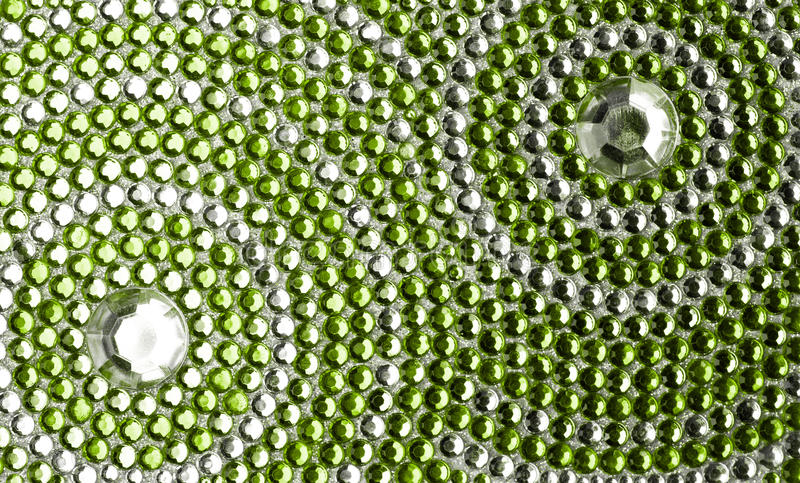 Zielona i srebna tekstura zdjęcia royalty free