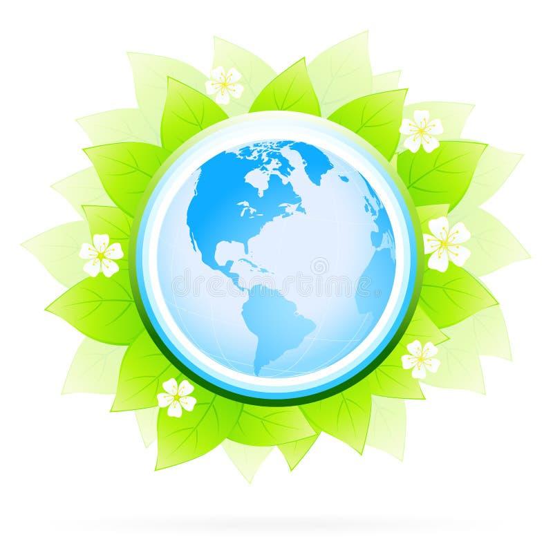 zielona ikona royalty ilustracja