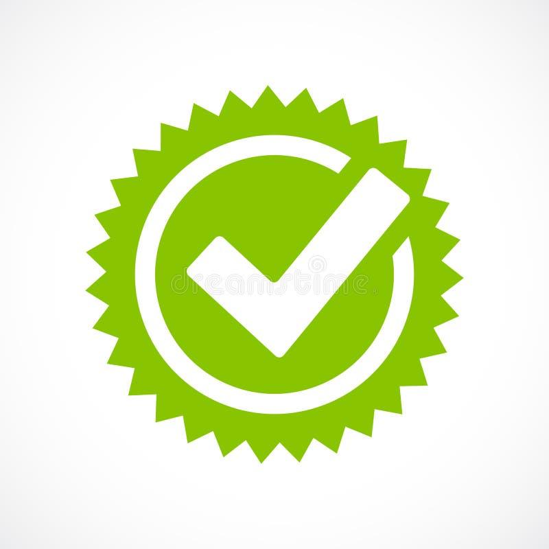 Zielona kleszczowa ocena wektoru ikona ilustracja wektor