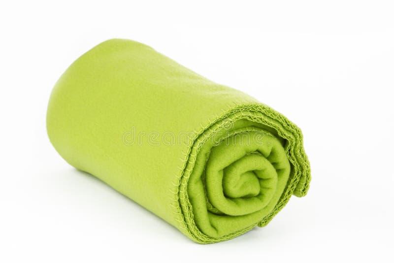 Zielona koc obrazy stock