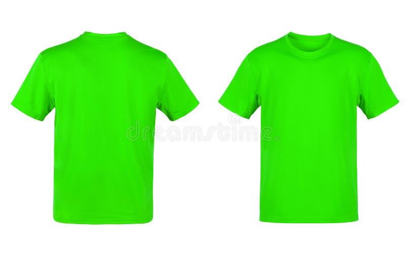 zielona koszulka t zdjęcia royalty free
