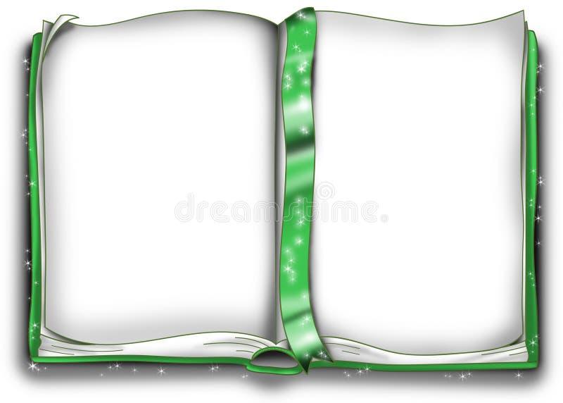 zielona księgowej magii ilustracji