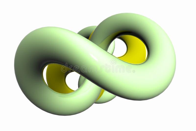 zielona kształt miękka ilustracji