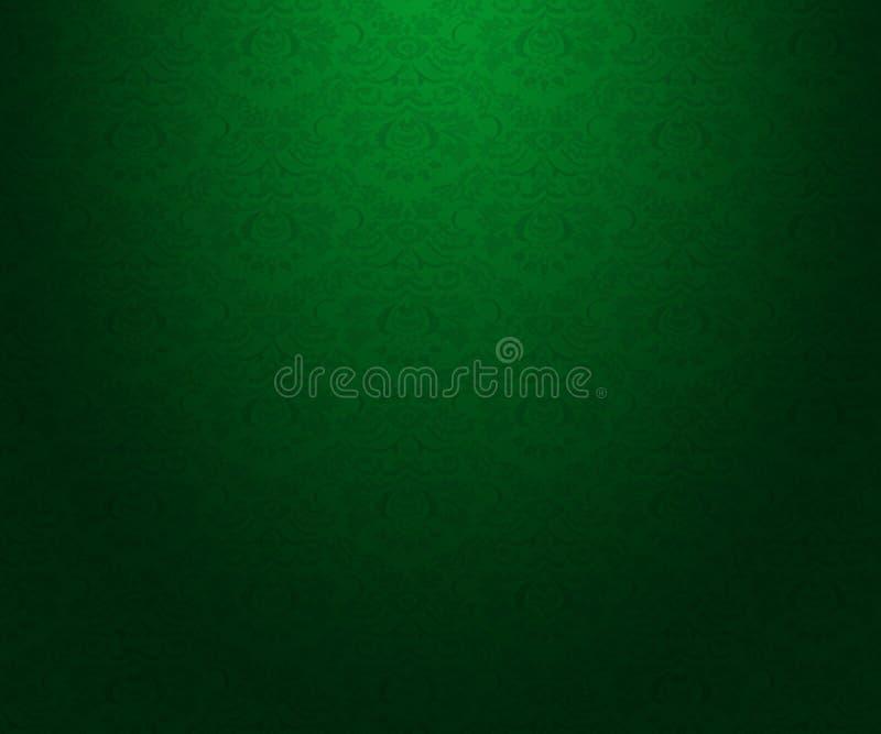 Zielona mody tła tekstura ilustracja wektor