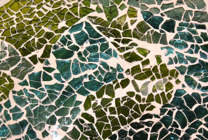 zielona mozaika obraz royalty free