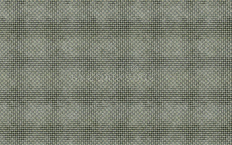 Zielona naturalna bieliźniana tekstura dla tła 3D ilustraci obrazy royalty free