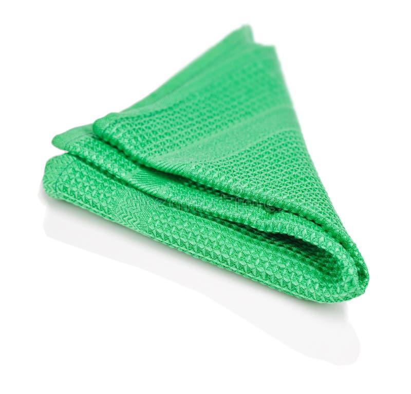 zielona pielucha zdjęcie royalty free
