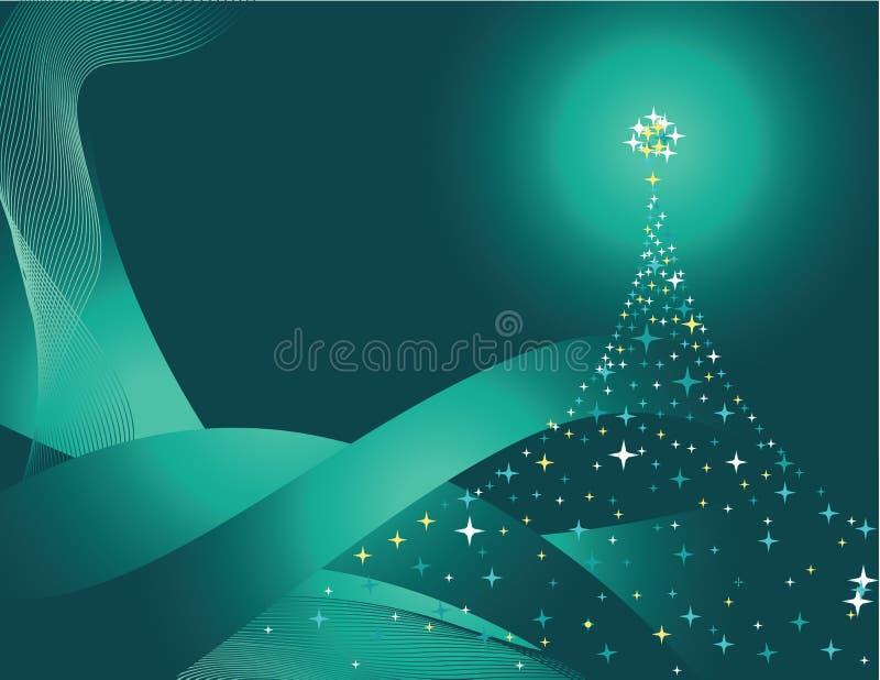 zielona sosna ilustracja wektor