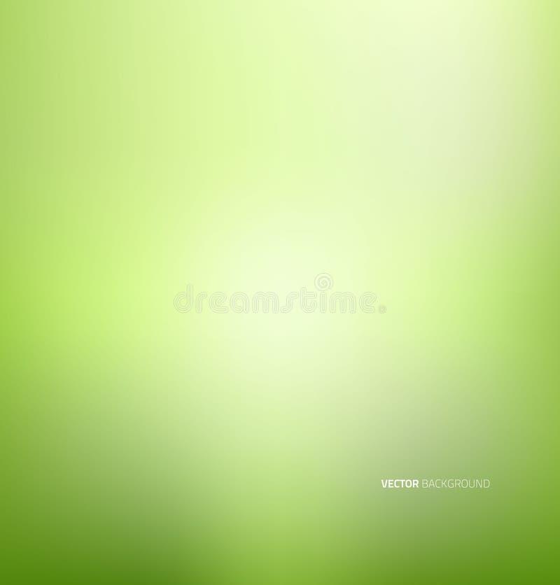 zielona tła miękkie royalty ilustracja